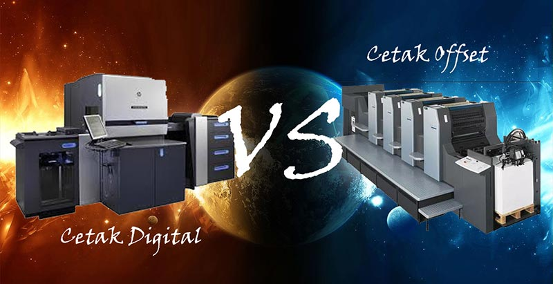 Cetak Offset vs Digital Printing (Percetakan Digital)