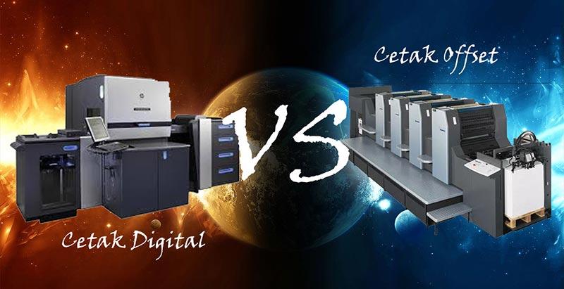 cetak offset vs percetakan digital
